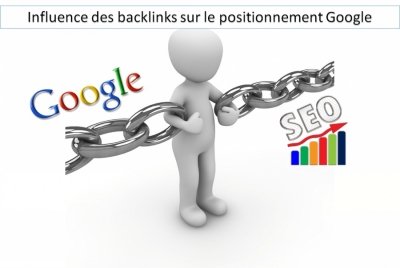 Influence des backlinks sur le positionnement Google